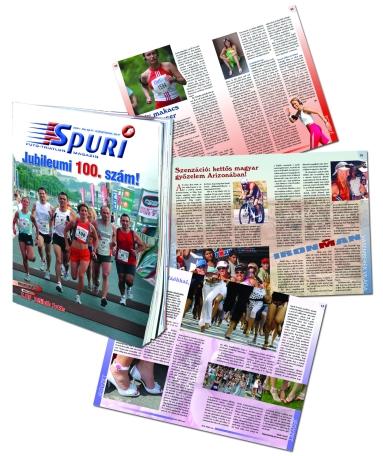 Megjelent a Spuri Futó-Triatlon Magazin 100. száma! 0e37d027fe