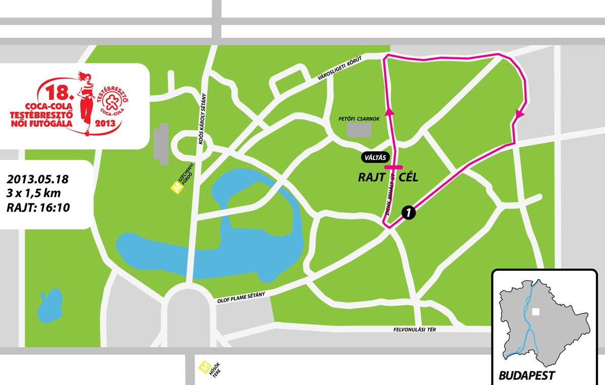budapest petőfi csarnok térkép Futanet.hu   18. COCA COLA TESTÉBRESZTŐ NŐI FUTÓGÁLA   Térképek budapest petőfi csarnok térkép