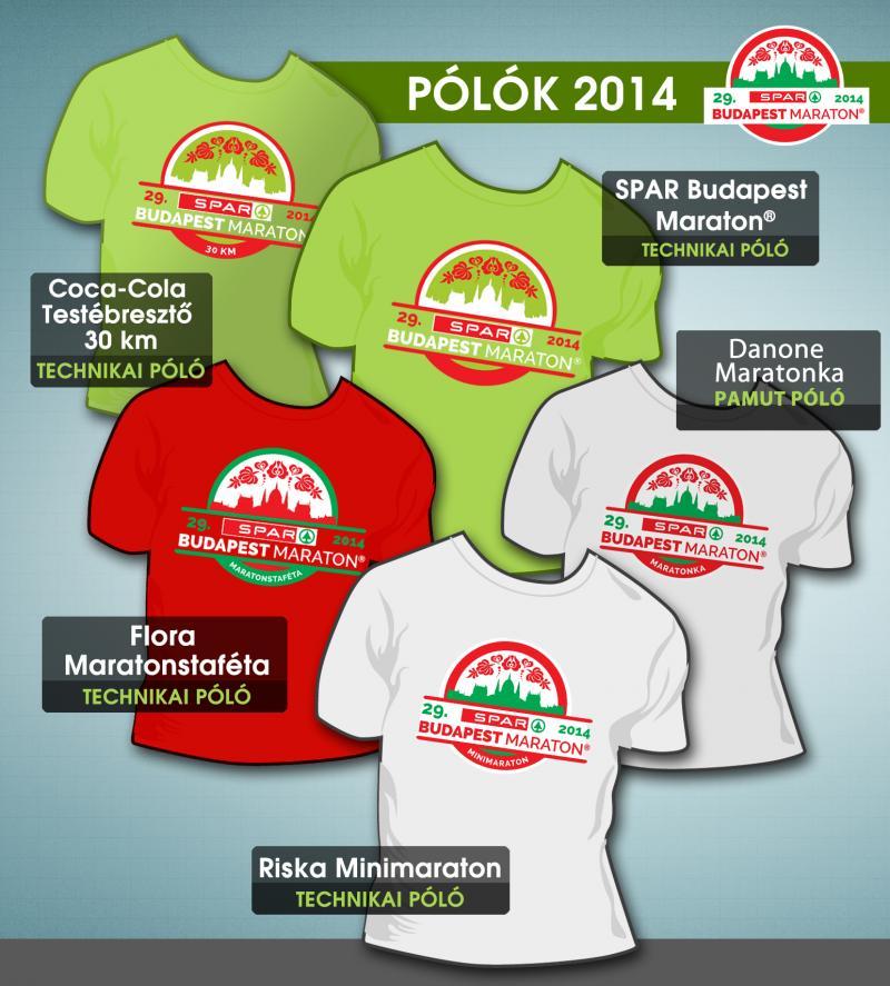Gyönyörű pólók a 29. SPAR Budapest Maraton® Fesztiválon ... 5eb78bef1c