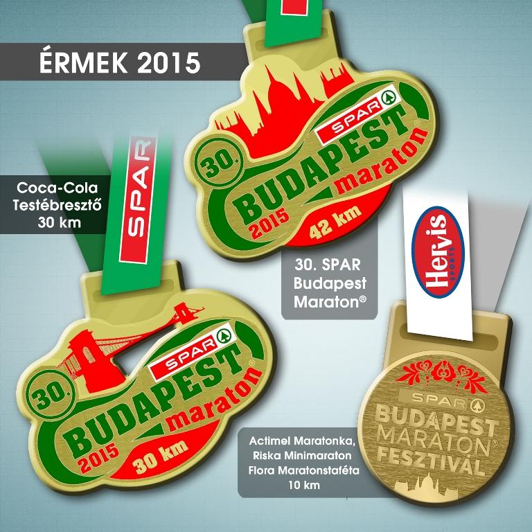 Íme a SPAR Budapest Maraton Fesztivál érmei - Futanet.hu 5355c5cb3f