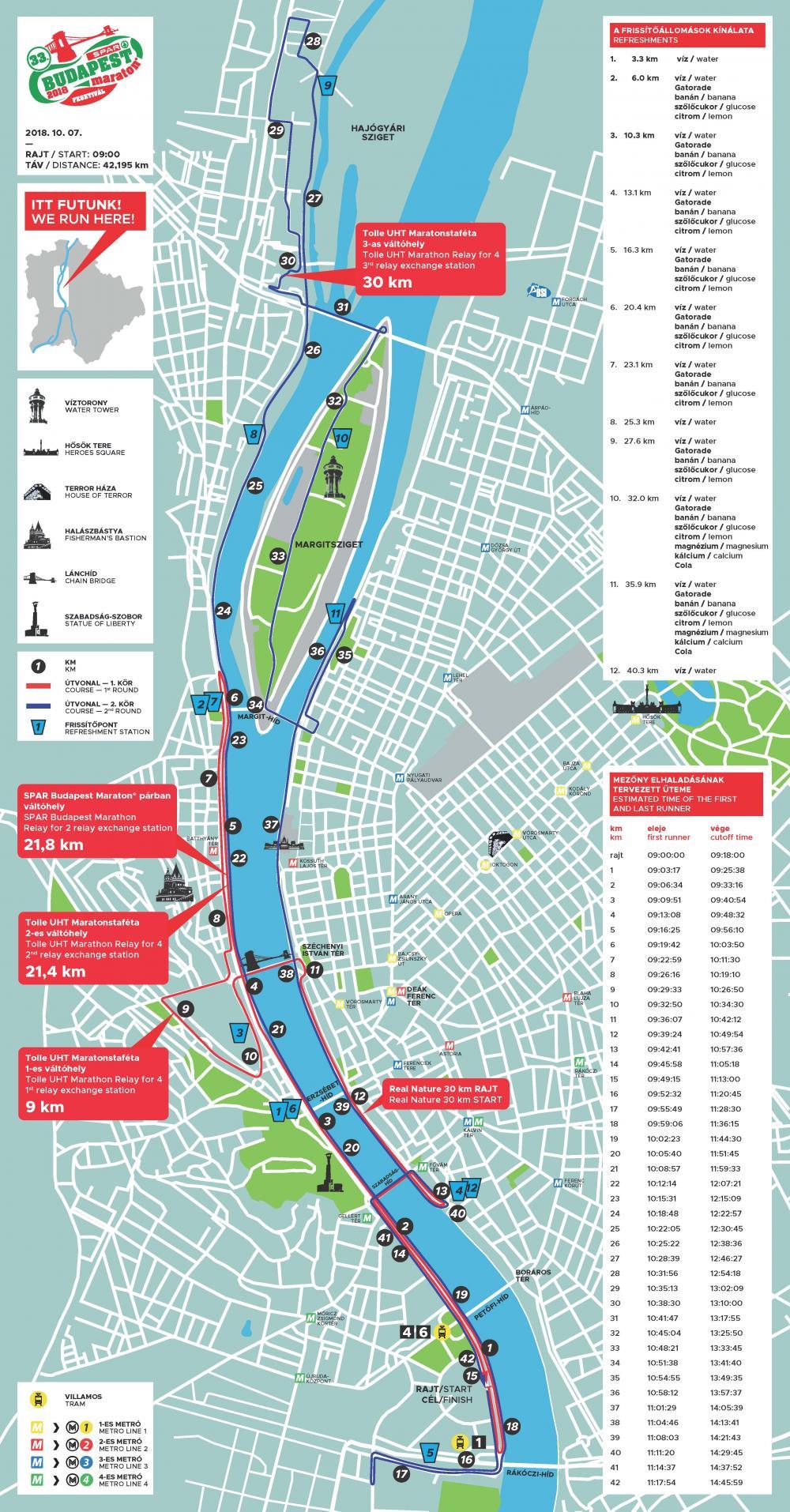 Budapest Domborzati Terkep Marlpoint