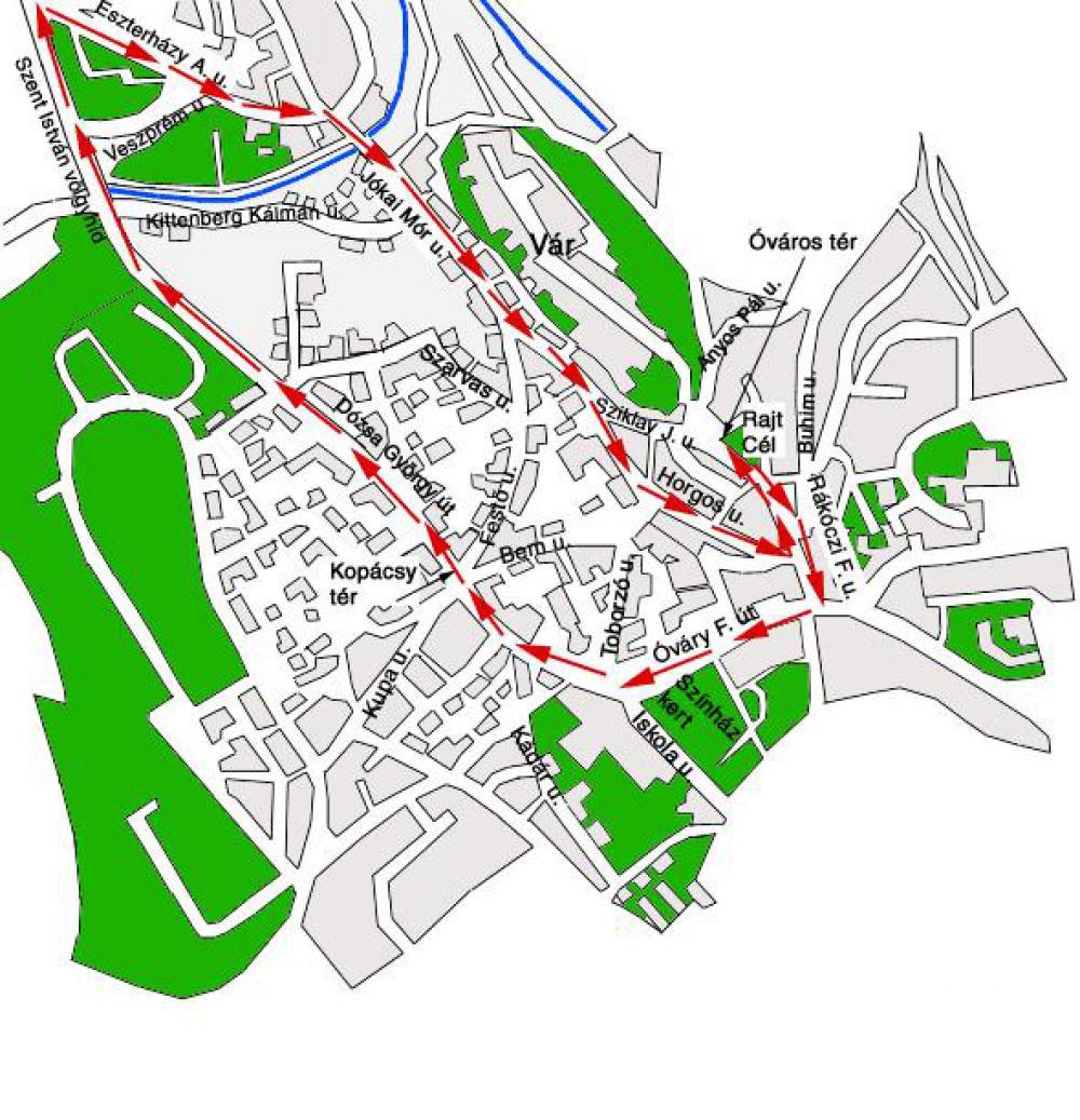 veszprém térkép 6. K&H olimpiai futónapok Veszprém   Térkép   Futanet.hu veszprém térkép